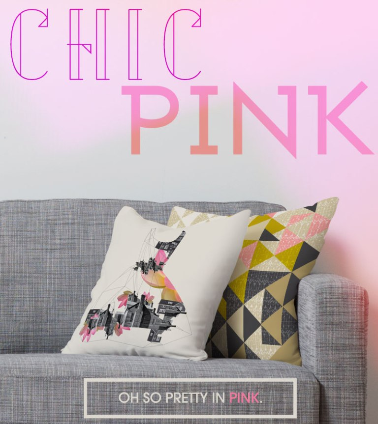 Chic Pink collection from DENY!