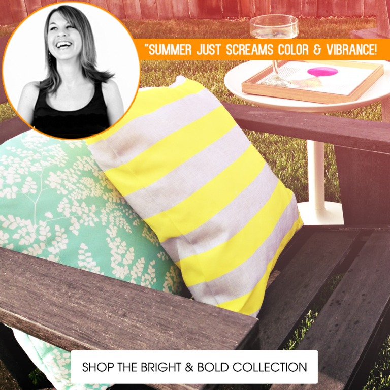 Shop the Bright and Bold Summer Patio Collection!