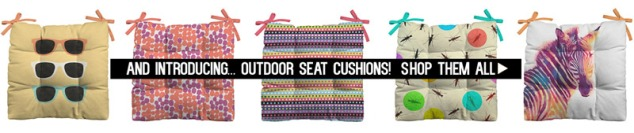 Shop new Outdoor Patio Seat Cushions!