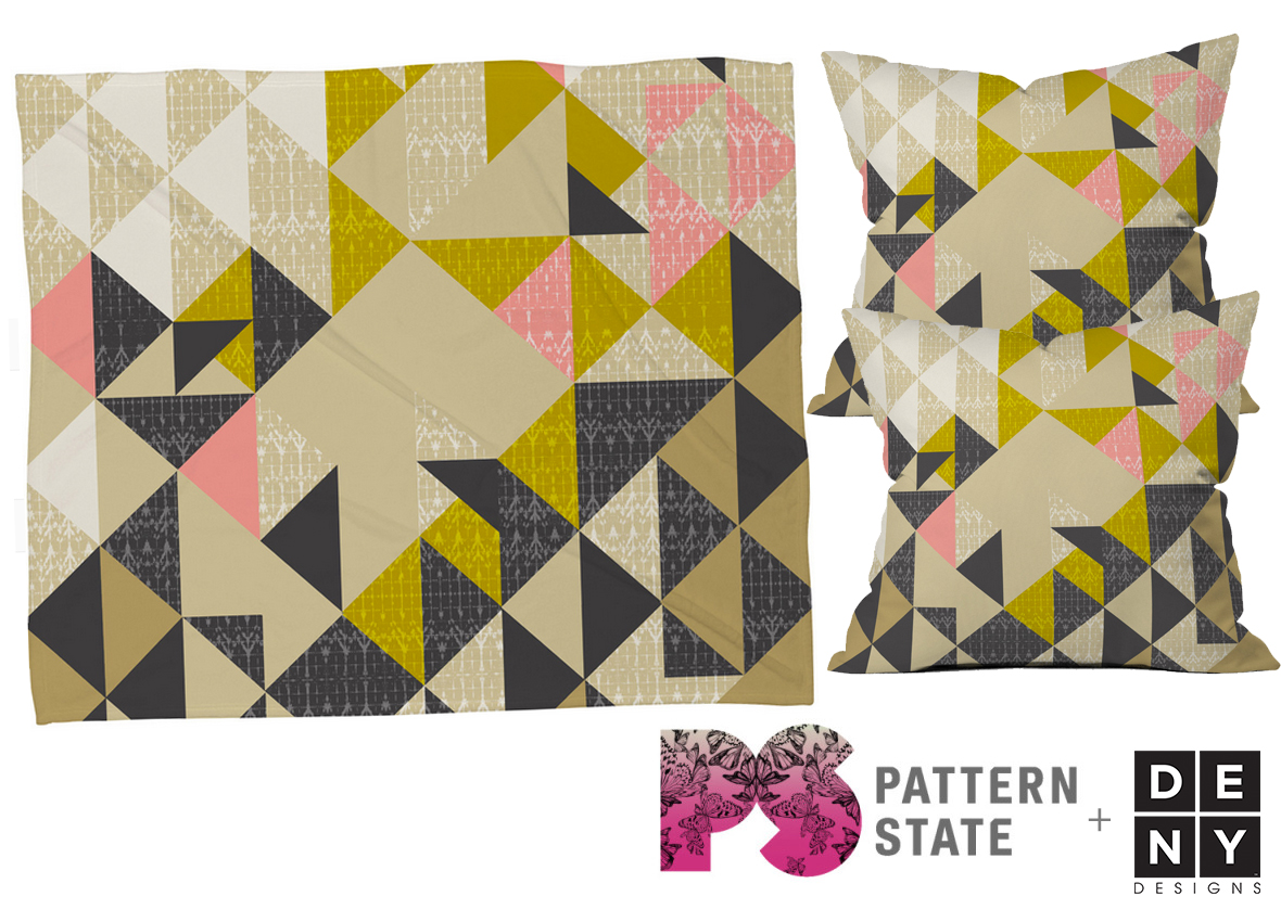 Deny At Home With Pattern State Deny Designs