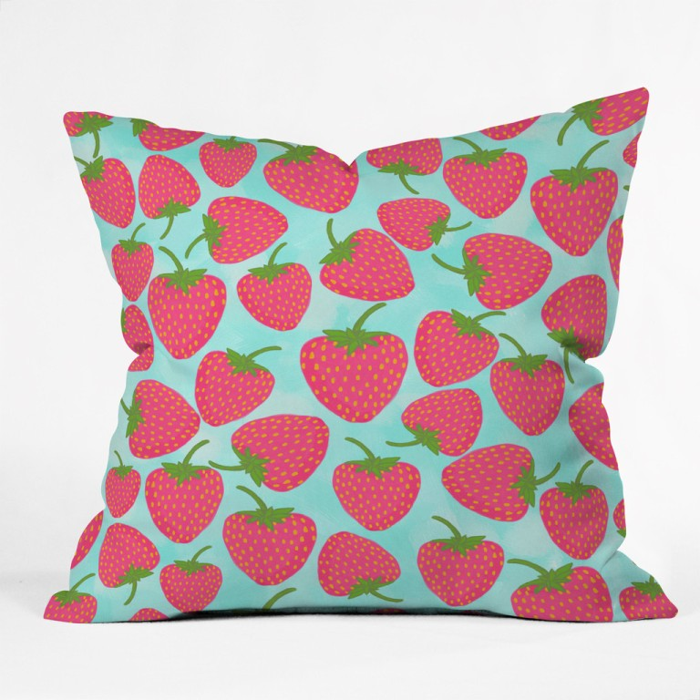 Strawberry Sweet in Blue