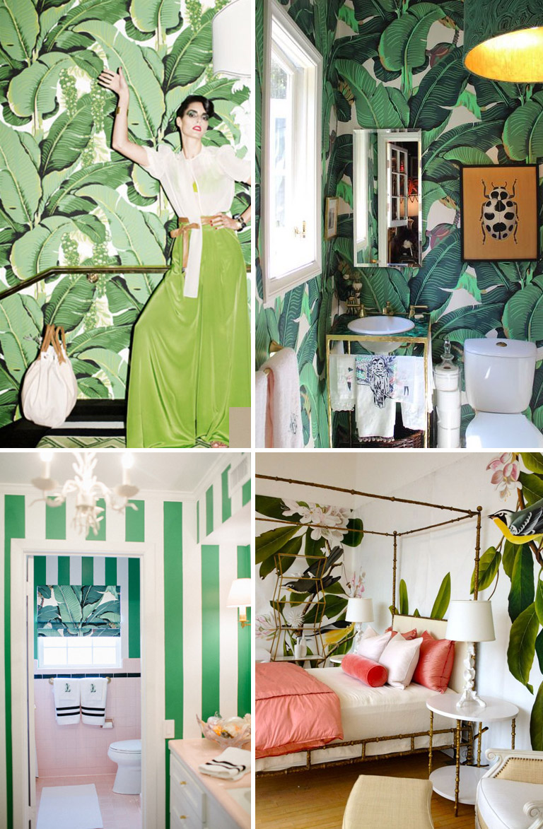The Tropical Palm home decor trend will LEAF you breathless.