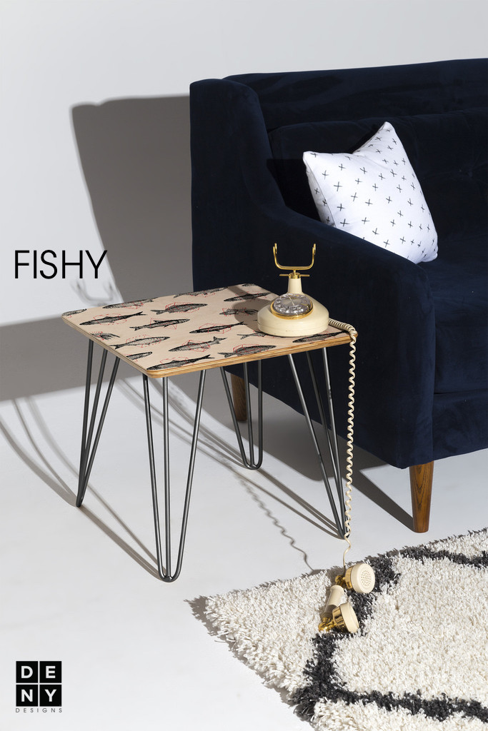 Statement side table