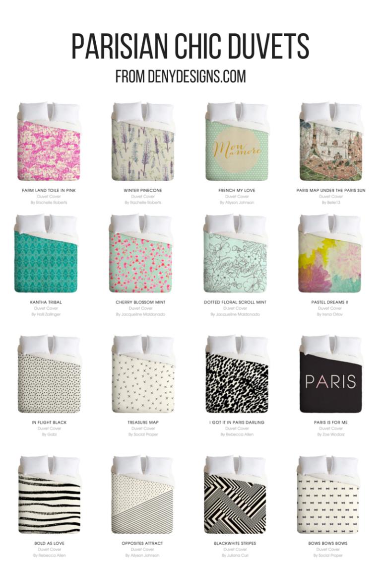 Parisian Chic Duvet Covers