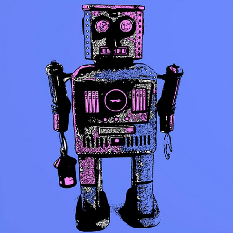 Lantern Robot by Romi Vega
