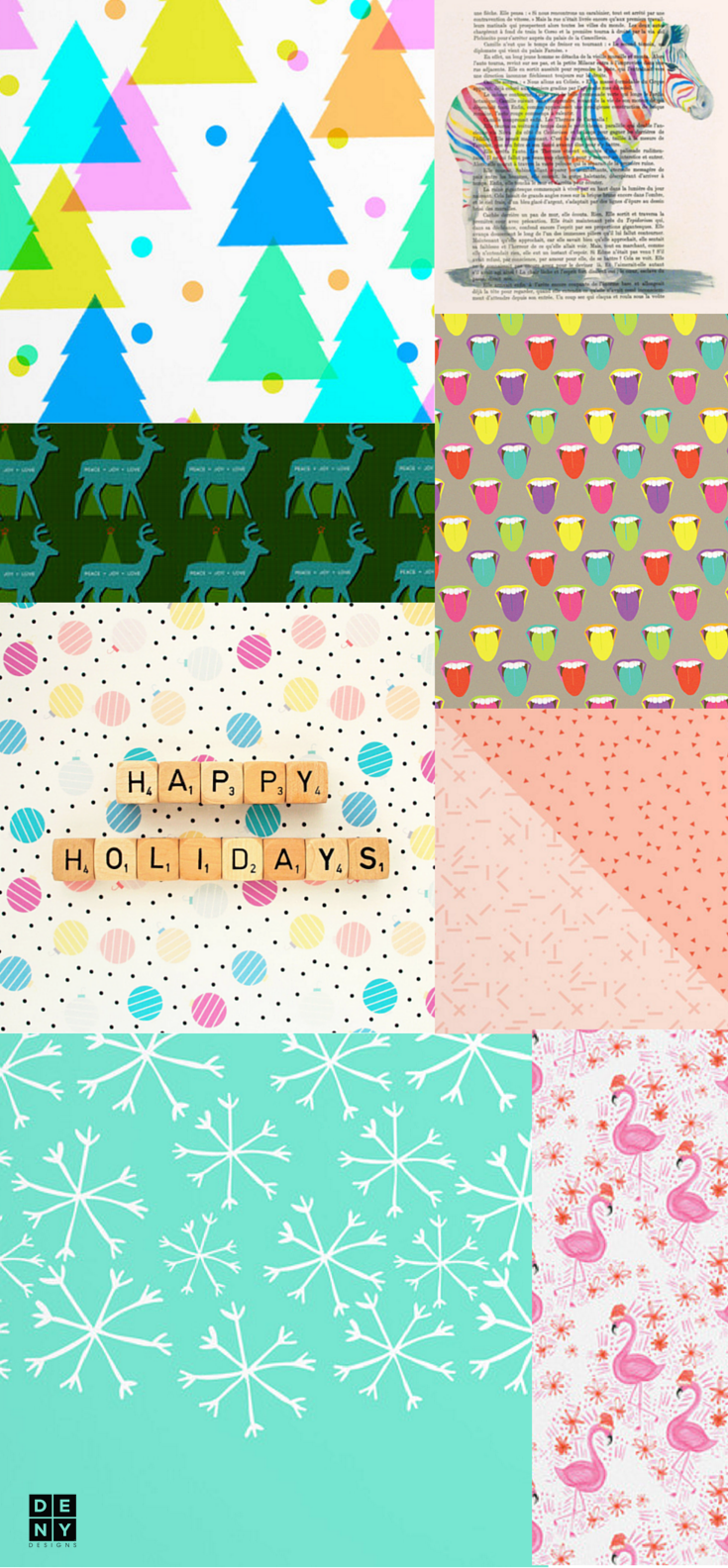 DENY Designs Holiday Pastel Color Pallet
