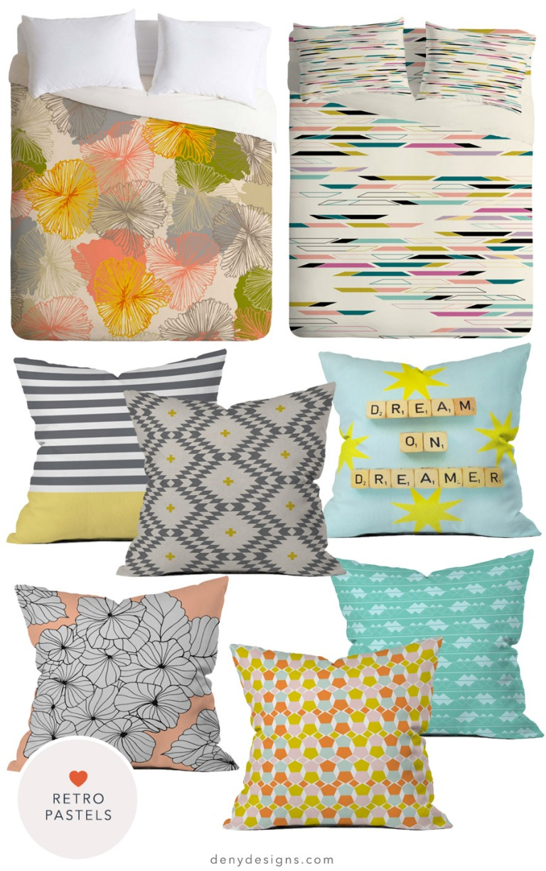retro-pastels-bedding