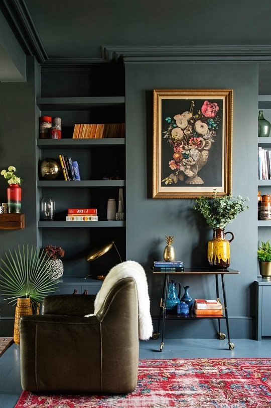 Tips and Tricks: How to do dark bedroom walls