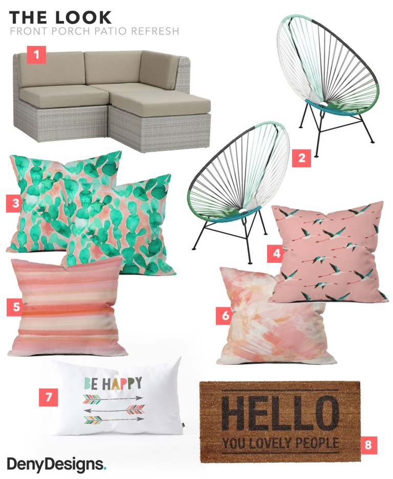 Patio Refresh Shopping List